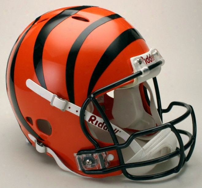 Cincinnati Bengals Authentic Pro Line Revolution Riddell Full Size Helmet