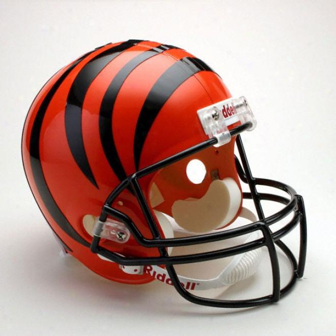 Cincinnati Bengals Deluxe Replica Riddell Full Size Helmet