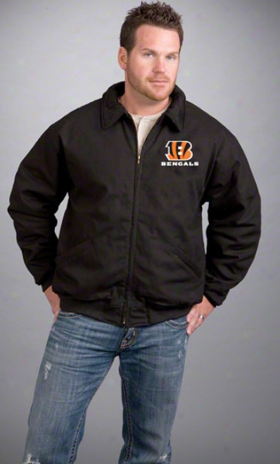 Cincinnati Bengals Jacket: Wicked Reebok Saginaw Jacket