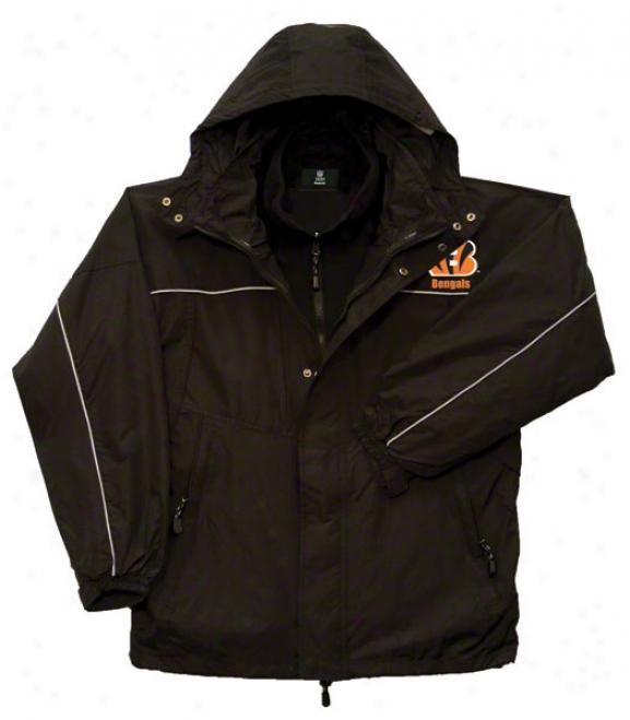 Cincinnat iBengals Jacket: Reebok Teton Jackrt