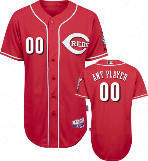 Cincinnati Reds - Any Player - Authentic Cool Baseã¢â�žâ¢ Alternate Red On-field Jersey