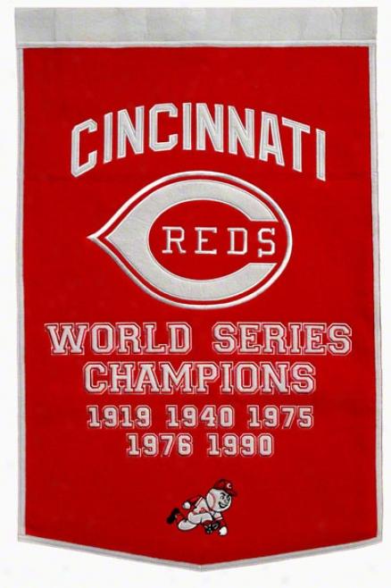 Cincinnati Reds Dynasty Baanner
