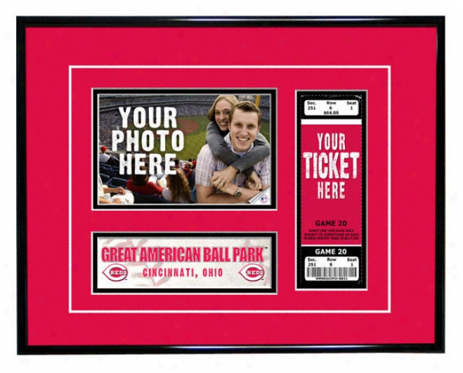 Cincinnati Reds - Game Day - Ticket Frame