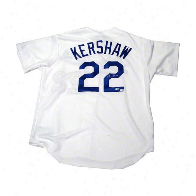 Clayton Kershaw Los Angeles Dodgers Autographed Repkica Jersey