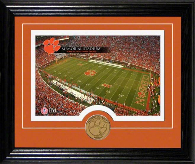 Clemson Tigers Memorial Stadium Desktop Photograph
