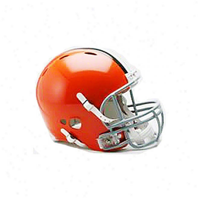 Cleveland Browns Genuine Pro Line Revolution Riddell Full Size Helmet