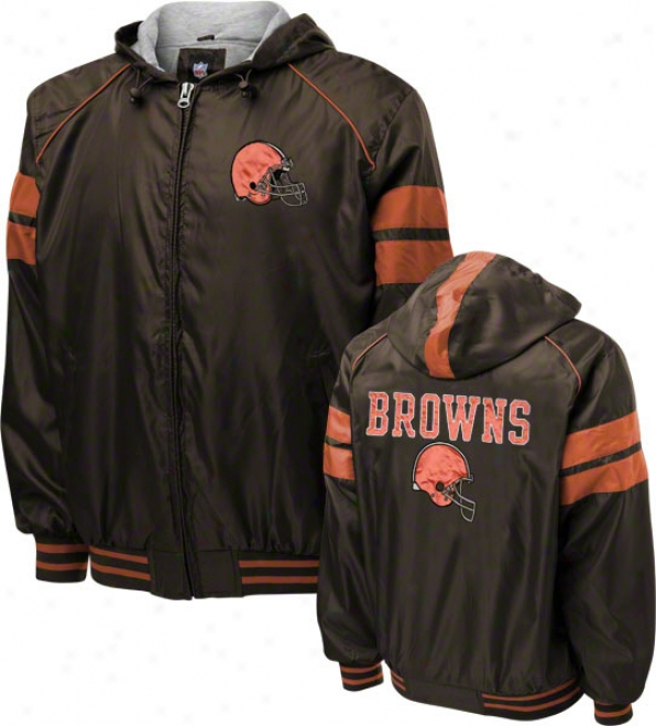 Cleveland Brwns Dedication Full-zip Lightweight Jacket
