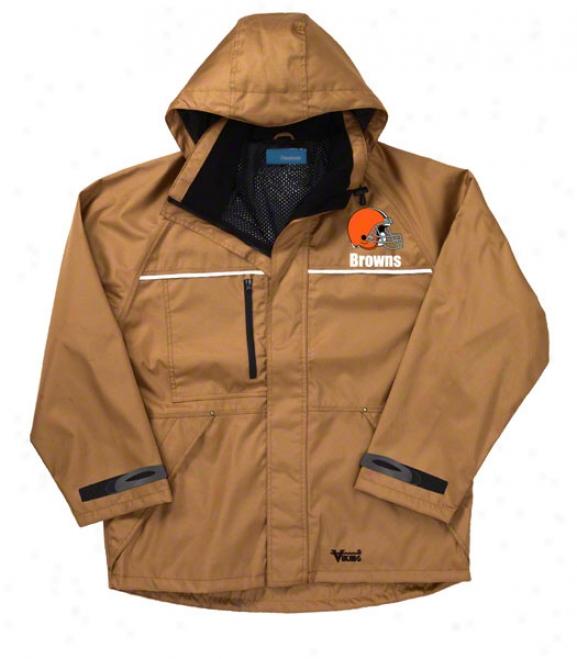 Cleveland Browns Jacket: Brown Reebok Yukon Jacket