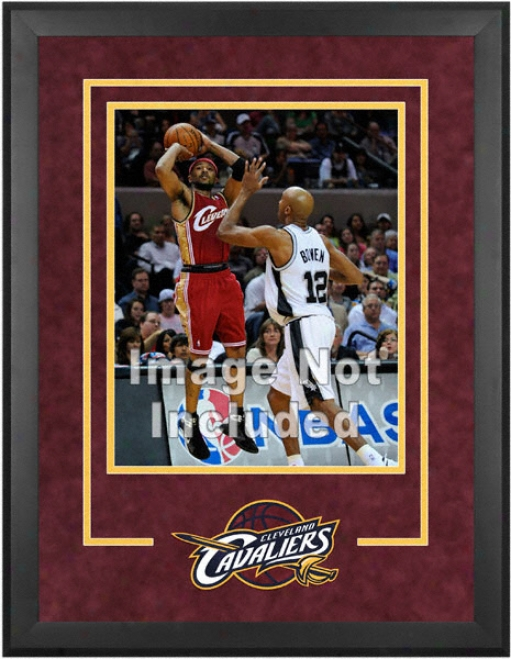 Cleveland Cavaliers 16x20 Vertical Setup Frame With Team Logo
