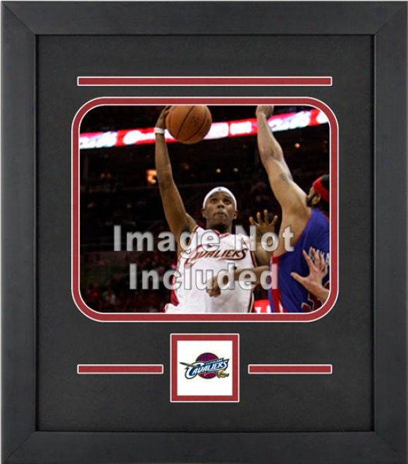 Cleveland Cavaliers 8x10 Level Setuup Frame With Team Logo