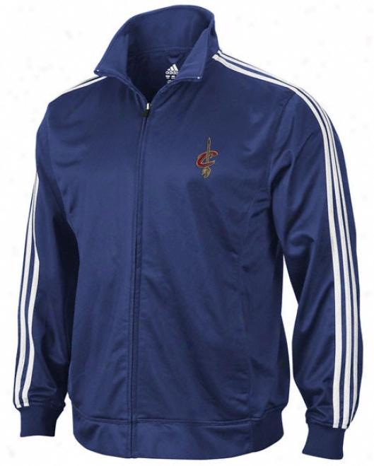 Cleveland Cavaliers Adidas 3-stripe Track Jacket