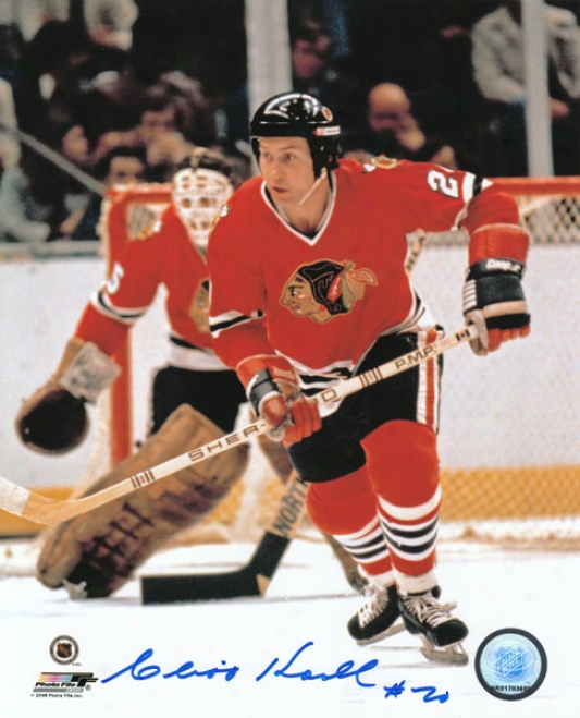 Cliff Koroll Chicago Blackhawks Autographed 8x10 Phptograph