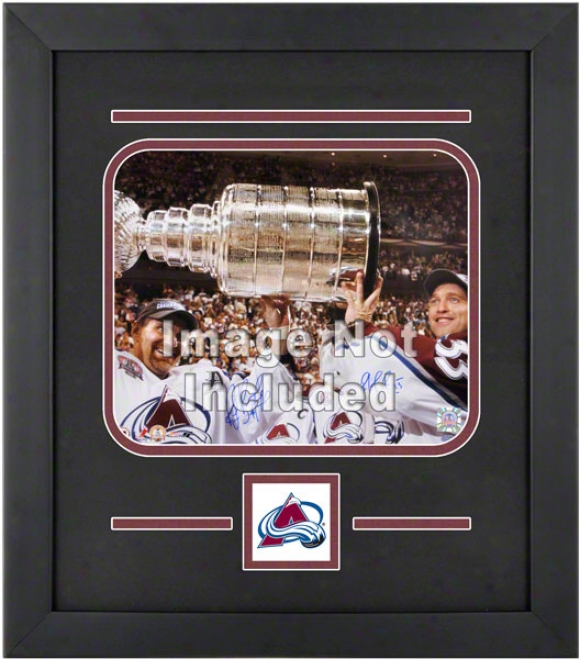Colorado Avalanche 8x10 Horizontal Setup Fabricate With Team Logo