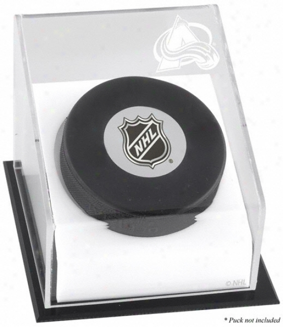 Colorado Avalanche Hoceky Puck Logo iDsplay Case