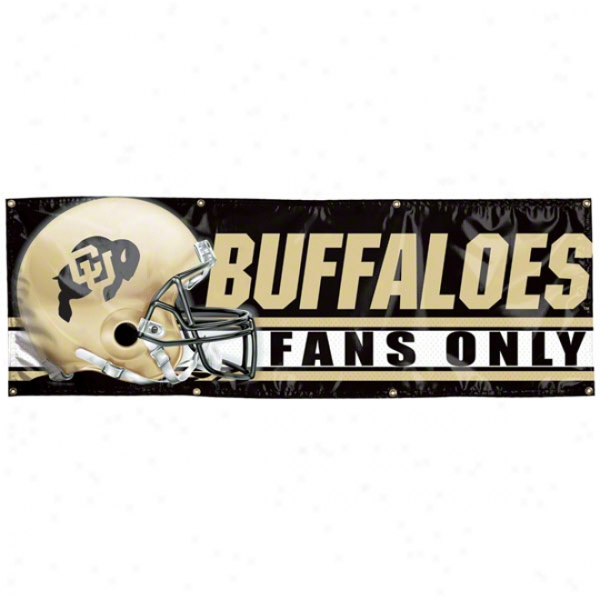Colorado Buffaloes 2x6 Vinyl Banner