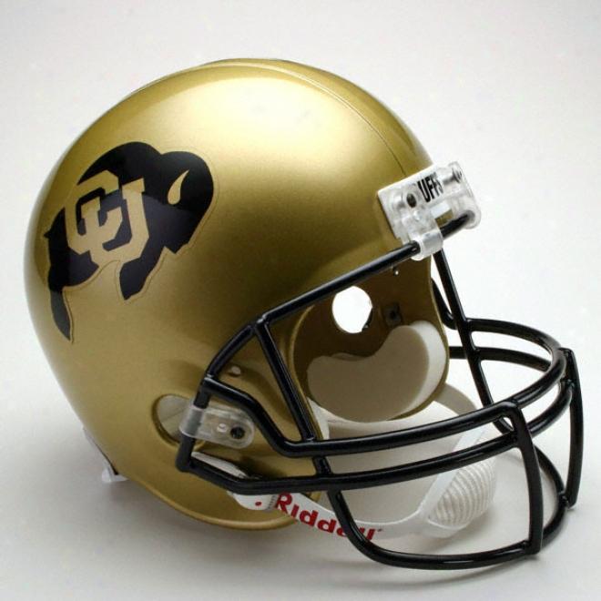 Colorado Buffaloes Deluxe Replica Riddell Helmet