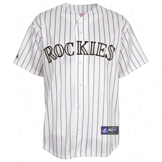 Colorado Rockies Home Mlb Replica Jersey