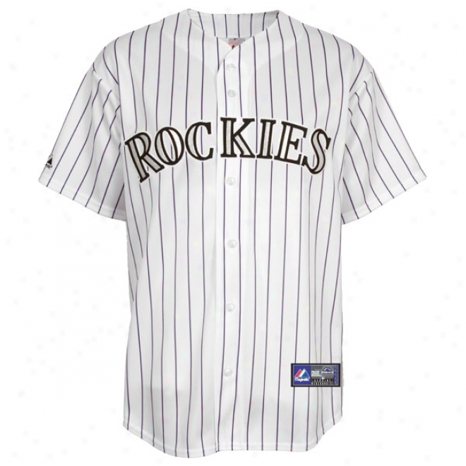 Colorado Rockies Road Mlb Replica Jersey