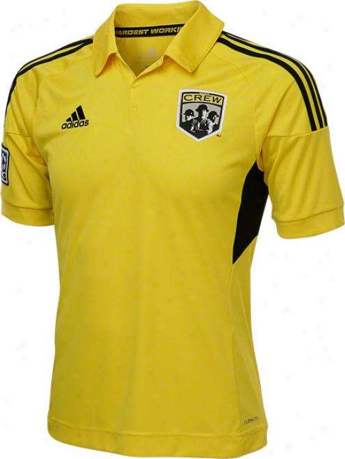 Columbus Crew Yellow Adidas Replica Home Jersey