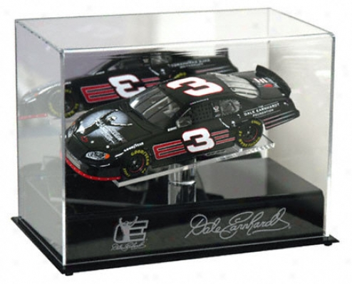 Dale Earnhardt 1/24th Die Cast Display Case In the opinion of Platform