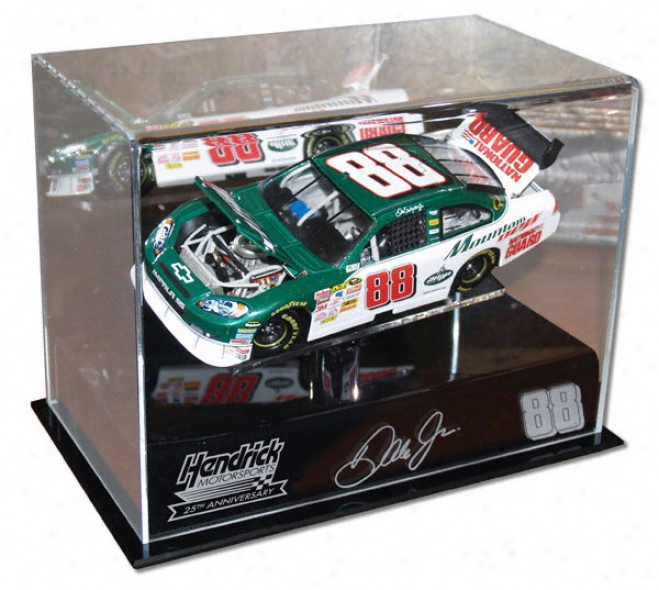 Dale Earnhardt Jr. 1/24th Die Drive 25th Anniversary Diwplay Case With Platform