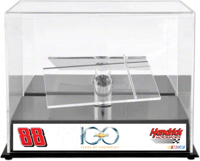 Dale Earnhardt Jr. 1/24tu Wither Cast Display Case  Details: Chevrolet 100th Anniversary, With Platform