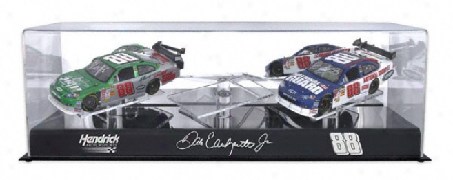 Dale Earhnardt Jr. #88 1/24th Scale Three Car Case