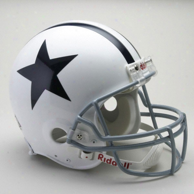 Dallas Cowboys 1960-1963 Trustworthy Pro Line Riddell Throwback Full Size Helmet