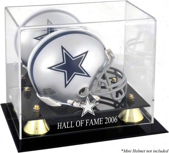 Dallas Cowboys 2006 Hall Of Fame Auspicious Classic Cowboys Logo Mini Helm aCse