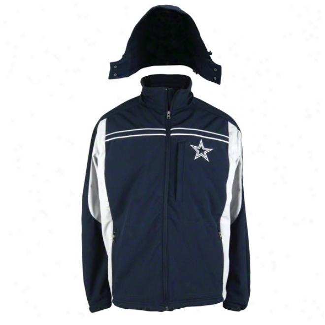 Dalias Cowboys 2011 Soft Shell Hooded Jacket