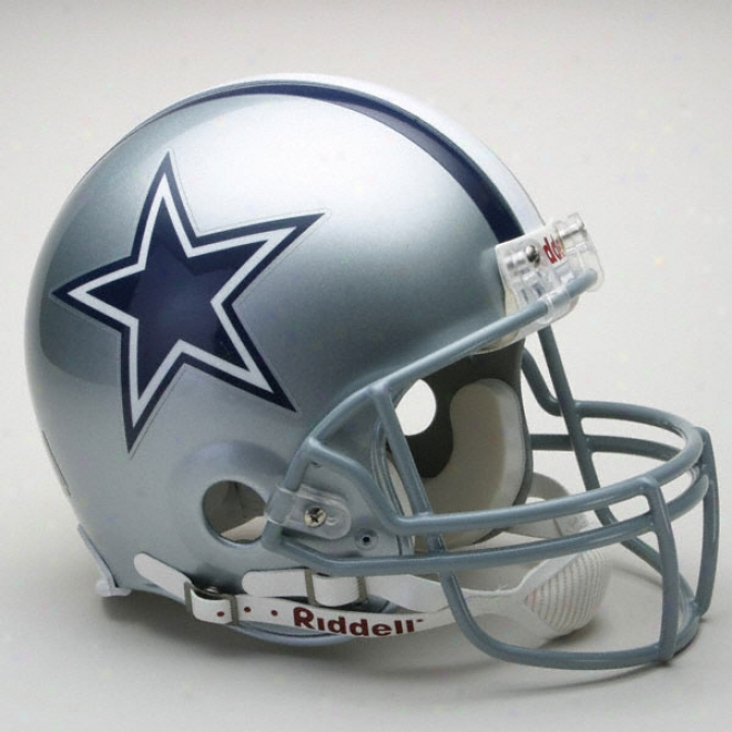 Dallas Cowboys Authentic Pro Line Riddell Fll Size Helmet
