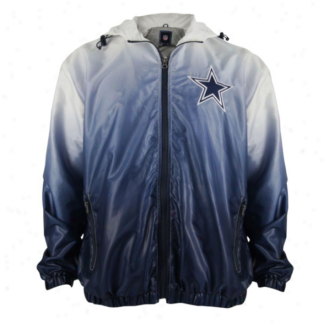 Dallas Cowboys Victory Gradient Full-zip Lightweight Jacket