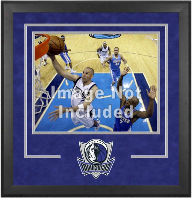 Dallas Mavericks 16x20 Level Setup Frame With Team Logo