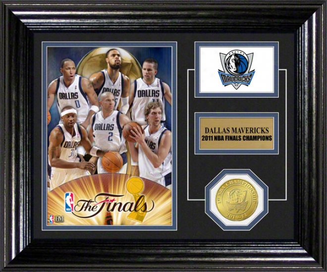 Dallas Mavericks 2011 Nba Champions Desk Top Photo Mint