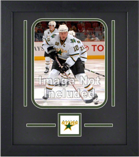 Dallas Stars 8z10 Vertical Setup Frame With Team Logo