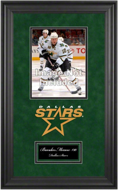 Dallas Stars Deluxe 8x10 Team Logo Frame