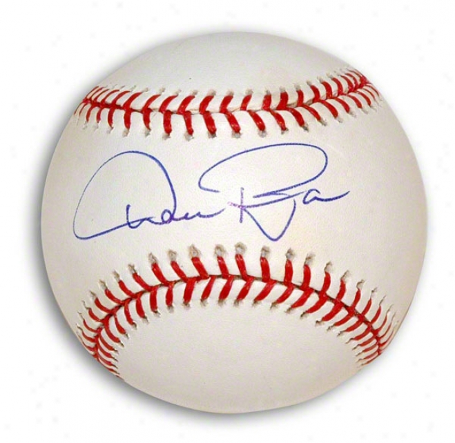 Dan Pasqua Autographed Major League Baseball