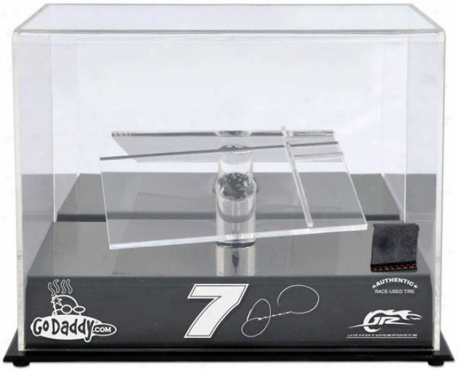Danica Patrick 1/24th Die Cast Display Case With Platform And Race Used Metal