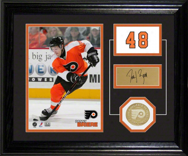 Danny Briere Philadelphia Flyers Player Pride Desk Top Photograph
