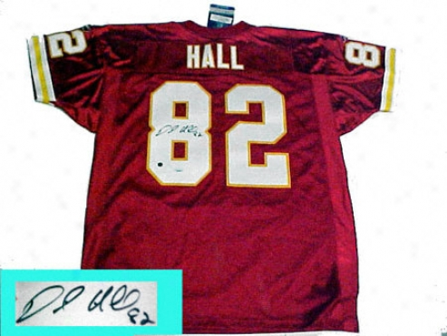 Dante Hall Kansas City Chiefs Autographed Authentic Red Jeesey