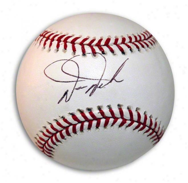 Darren Daulton Autographed Mlb Baseball