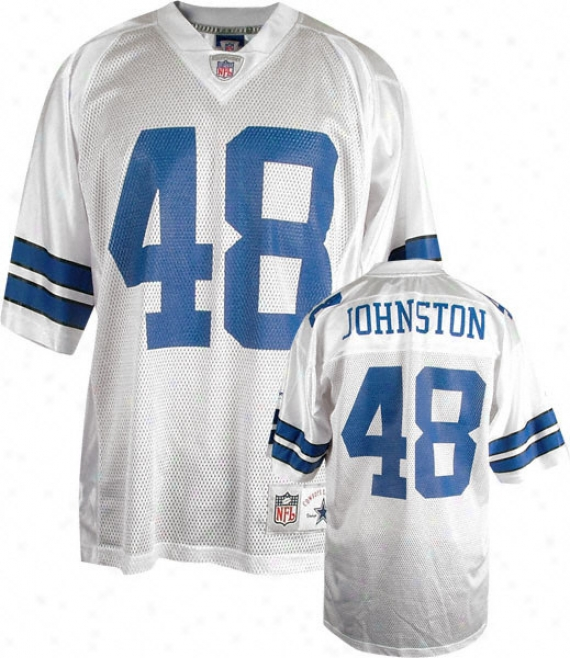 Daryl Johnston Reebok Nfl Replica Throwback Dallas Cowboys Jersey