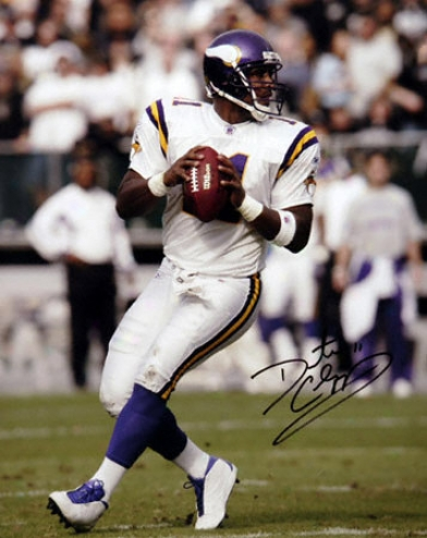 Daunte Culpepper Minnesota Vikings 16x20 Autographed Photograph