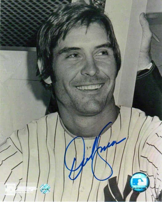 Dave Kingman Autograpbed New York Yankees 8x10 Photo