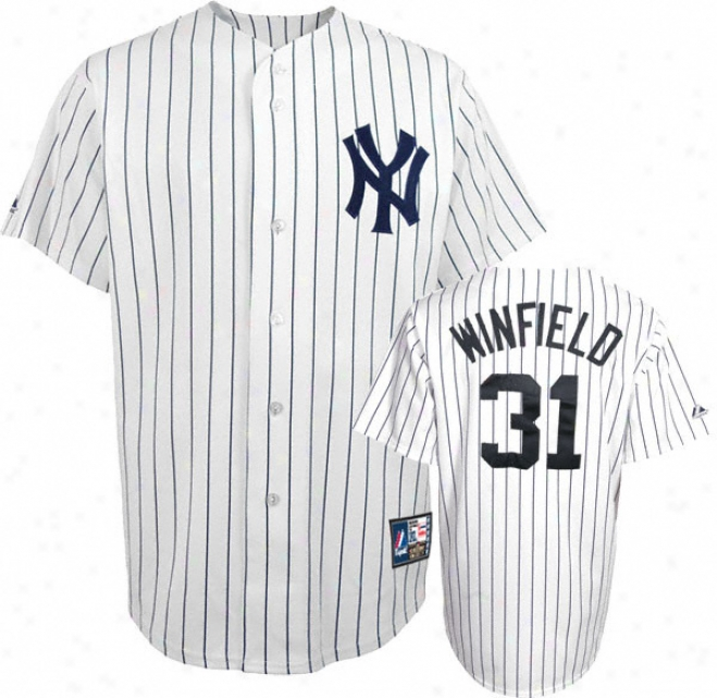 Dave Winfield New York Yankees Pinstripe Cooperstown Replica Jersey
