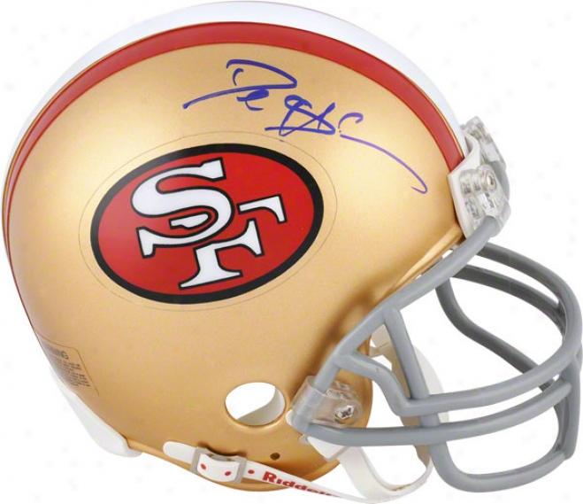 Deion Sanders Autographed Mini Helmet  Details: San Francisco 49ers