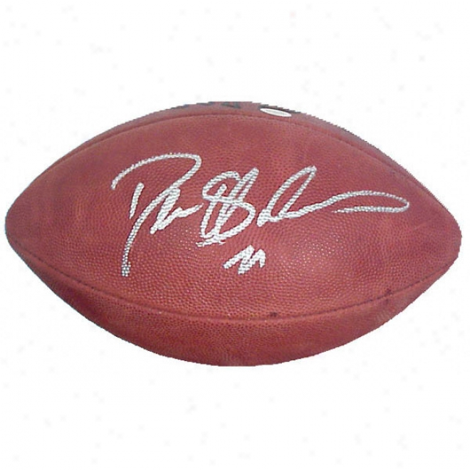 Deion Sanders Autographed Pro Football