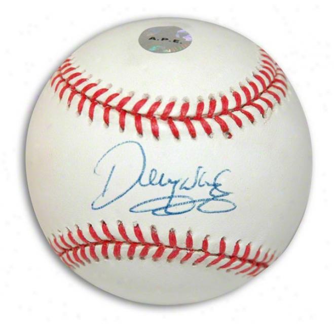 Denny Neagle Autographed Baseball