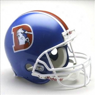 Denver Broncos 1975-1996 ''d'' Riddell Pro Line Throwback Full Size Helm