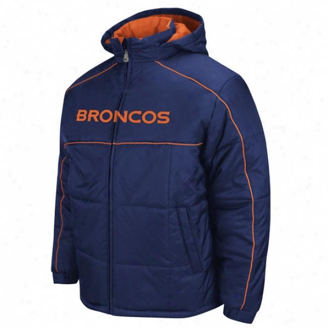 Denvet Broncos Endzone Rush Full-zip Hooded Parka